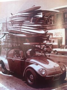 How many surf boards can this car hold...spoiler alert a lot!