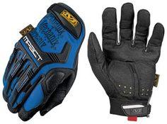 Mechanix Wear MPT-03-009 M-Pact Series Glove, Medium, Blue