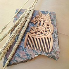 Hair care Wooden comb Hair accessories Womens gift Gift for Gifts For Girls, Gifts For Women, Handmade Accessories, Hair Accessories, Decorative Hair Pins, Beard Grooming Kits, Etsy Handmade, Handmade Gifts, Cleaning Wood
