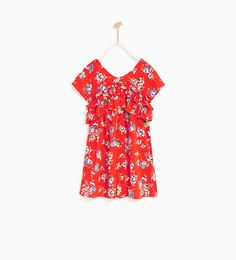 FLORAL JUMPSUIT-NEW IN-GIRL | 4-14 years-KIDS | ZARA United States