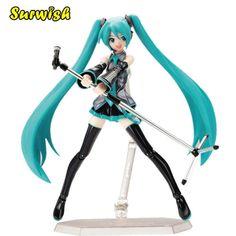 c146ccec39c Anime 15cm Gift Movable Hatsune Miku PVC Figure Statue Kids Toy