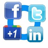 Facebook - Twitter - Google 1 plugin for Joomla