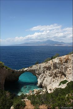 Natural Arch, Athens, Greece