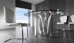 Resultado de imagen para bases para mesas redondas de cristal
