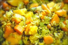 Veggie stew cooked in a Tagine - clay pot cooking is not only tasty but alkalizing for the body