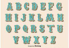 Graffiti Lettering Fonts, Hand Lettering Alphabet, Typography Letters, Lettering Design, Graffiti Alphabet, Calligraphy Alphabet, Islamic Calligraphy, Vintage Fonts, Vintage Typography