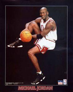 Michael Jordan Chicago Bulls Portrait 16x20 Starline Poster OOP