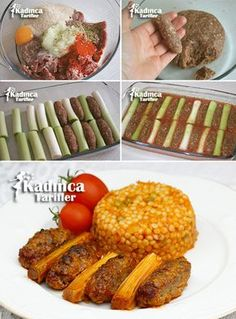 Meatball Kebab Recipe with Meatballs, How To? – Womanly Recipes – Delicious, Practical and Delicious Food Recipes Site - Fleisch Healthy Eating Tips, Healthy Dinner Recipes, Cooking Recipes, Healthy Nutrition, Turkish Recipes, Greek Recipes, Easy Bbq Chicken, Greek Menu, Corned Beef Recipes