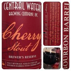 Central Waters Cherry Stout