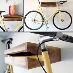 estantes para bicicletas bicicletero pinterest range velo support velo et rangement. Black Bedroom Furniture Sets. Home Design Ideas