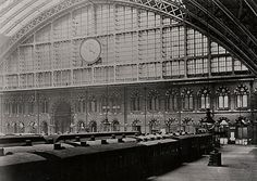 The famous clock at St Pancras Bbc London, Mood Images, London Travel, Restoration, Louvre, Clock, Times, Architecture, Gallery