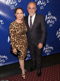 They must really like each other! On Saturday night singer Gloria Estefan and her husband Emilio Estefan looked like the poster people for a happily married couple when they posed side by side at the An American In Paris Broadway opening night at Palace Theatre in New York City