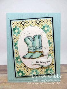 Country Livin' Diana Gibbs Stampin' Up!