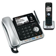 AT TL86109 Two-Line DECT 6.0 Phone System W/ Bluetooth Headset & Hearing Aid Compatible by AT $139.24. Four, pre-set equalizer programs let you choose the sound quality that best fits your hearing.  Expandable system makes it easy to add cordless handsets in any room.  Compatible with most headsets (via 2.5mm jack) and hearing aids.  Global Product Type Telephones-Cordless; Answering System Digital; Lines [Nom] 2; Telephone Type Corded, Cordless; Caller ID/Type Standard Disp...