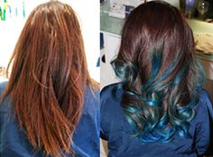 I think it'd be fun to try a dip-dye for some kind of fun occasion, but I think I'd want it to be 100% temporary.