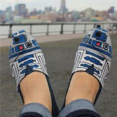 @toms shoes, the force be with my feet
