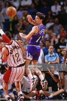 Jazz Basketball, Basketball Skills, John Stockton, Karl Malone, Utah Jazz, Sports Figures, Houston Rockets, Nba Players, Athlete