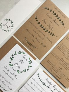 How rustic do you want to get? Simple (that's all is needed right?) petal details combined with kraft paper oozes rustic charm and charisma. Ideal for a wedding at any time of the year. Simplicity is true beauty. Forest Wedding Invitations, Wedding Invitation Design, Wedding Stationery, Wedding Inspiration, Wedding Ideas, Place Names, Stationery Design, Kraft Paper, Rustic Charm