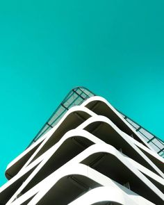 Minimalist and Colorful Architecture Photography by Killian Roman #inspiration #photography