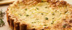Tarta liviana de puerros | Las mejores recetas saludables encontralas en Viví Nestlé