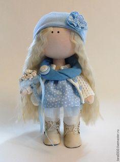 Купить Полли - авторская ручная работа, текстильная кукла, интерьерная кукла, кукла ручной работы