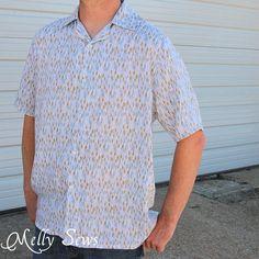 Sew a Men's Short Sleeve Shirt