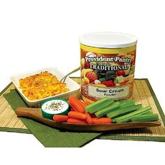Provident Pantry Sour Cream Powder - 35 oz - http://www.disasternecessities.com/product/FS%20D055