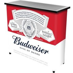 BAR-PORTABLE-BUDWEISER-SPORTS-EVENTS-PARTY-TAILGATING-ADULT-DRINK-SERVER-BBQ-NEW