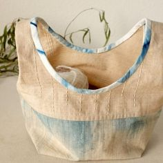 A Verb for Keeping Warm — Stitch Exchange: Boro Inspired Stowe Bag