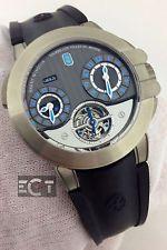 Harry Winston 400 MATTZ45Z Project Z5 Zalium Tourbillon Men's Watch