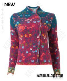 Queen Jacket, Floral Pattern Ivko