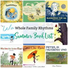 For Children Summer by Gerda Muller How Does My Garden Grow by Gerda Muller The Story of the Wind Children by Sibylle von Olfers The Story of the Butterfly Childrenby Sibylle von Olfers Blueberries for Sal by Robert McCloskey The Land of Long Ago by Elsa Beskow The Sun Egg by Elsa Beskow Peter in … Summer Books, Summer Reading Lists, Kids Reading, Summer Activities, Preschool Activities, Educational Activities, Waldorf Preschool, Waldorf Playroom, Homeschool Books