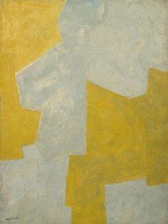 Composition Gris et Jaune .  Serge Poliakoff