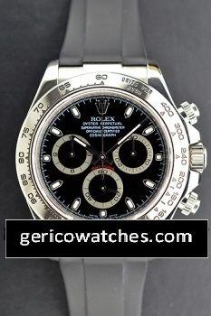 Gerico National/Rolex/Breitling/AudemarsPiguet - Pre-Owned Rolex Cosmograph Daytona with black index dial, $17,320.00 (http://stores.gericowatches.com/pre-owned-rolex-cosmograph-daytona-with-black-index-dial/)