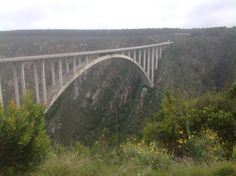 Bloukrans bridge bungee, South Africa