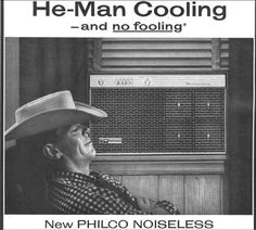 1959 air conditioning ad. Keeping it #funny.
