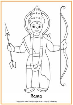 indian diwali coloring pages - photo#8