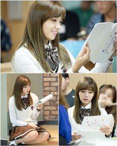 N, Eunji, and Lee Won-geun are charming high school students for upcoming cheerleading drama