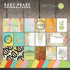 The individual journal and fillercards are great for your digital layouts and project life spreads.   #digiscrap #scrapbooking #mixedmedia #artjournaling #cardmaking #hybridscrap #quote #quotes #scrapbookingideas #nbk_design #the_lilypad #artsy #photobook #fotobuch #journalcards #fillercards #pocketscrapbooking