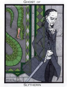 Harry Potter Tarot: Queen of Swords by nasubionna.deviantart.com on @DeviantArt