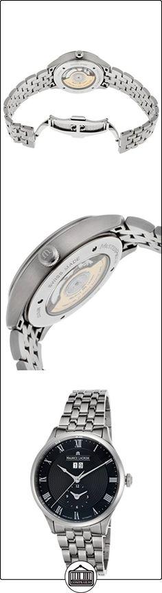 Maurice Lacroix obra maestra tradición Fecha GMT Reloj Automático de Acero Inoxidable Hombre mp6707-ss002-310  ✿ Relojes para hombre - (Lujo) ✿