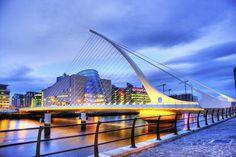Samuel Beckett Bridge by Absolutely Tuesday, via 500px