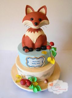 Forest Fox Baby Shower