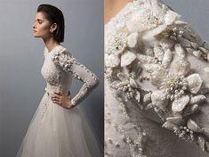 Chana Marelus neueste vestidos que ella denomina dis . Best Wedding Guest Dresses, Muslim Wedding Dresses, Alternative Wedding Dresses, Bridal Dresses, Wedding Gowns, Boho Vintage, Iconic Dresses, Wedding Styles, Designer