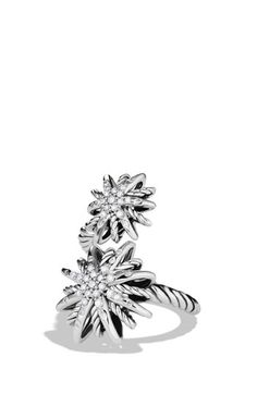 David Yurman 'Starburst' Open Ring with Diamonds available at #Nordstrom