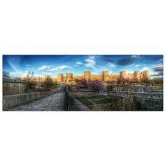 Panorámica. Zona río Adaja. #Ávila #Spain #estaes_CastillaLeon #landscape #colorday #sky #clouds #hdr #panorámica #photooftheday #patrimonio #photo #igersavila #igers #instagrameando #landscape #all_shots