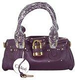 Chloe Paddington Satchel Bag Purple.... um, I NEED this bag....
