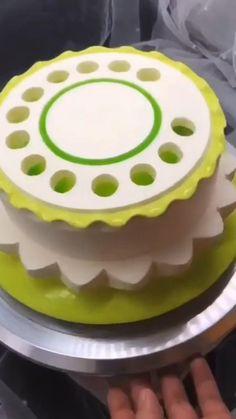 Cake Decorating Set, Cake Decorating Videos, Cake Decorating Techniques, Pretty Cakes, Beautiful Cakes, Amazing Cakes, Big Cakes, Food Cakes, Cupcakes