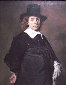 Adriaen van Ostade painted by Frans Hals c. 1645/1648