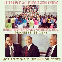 #Mormon women, 2nd class members